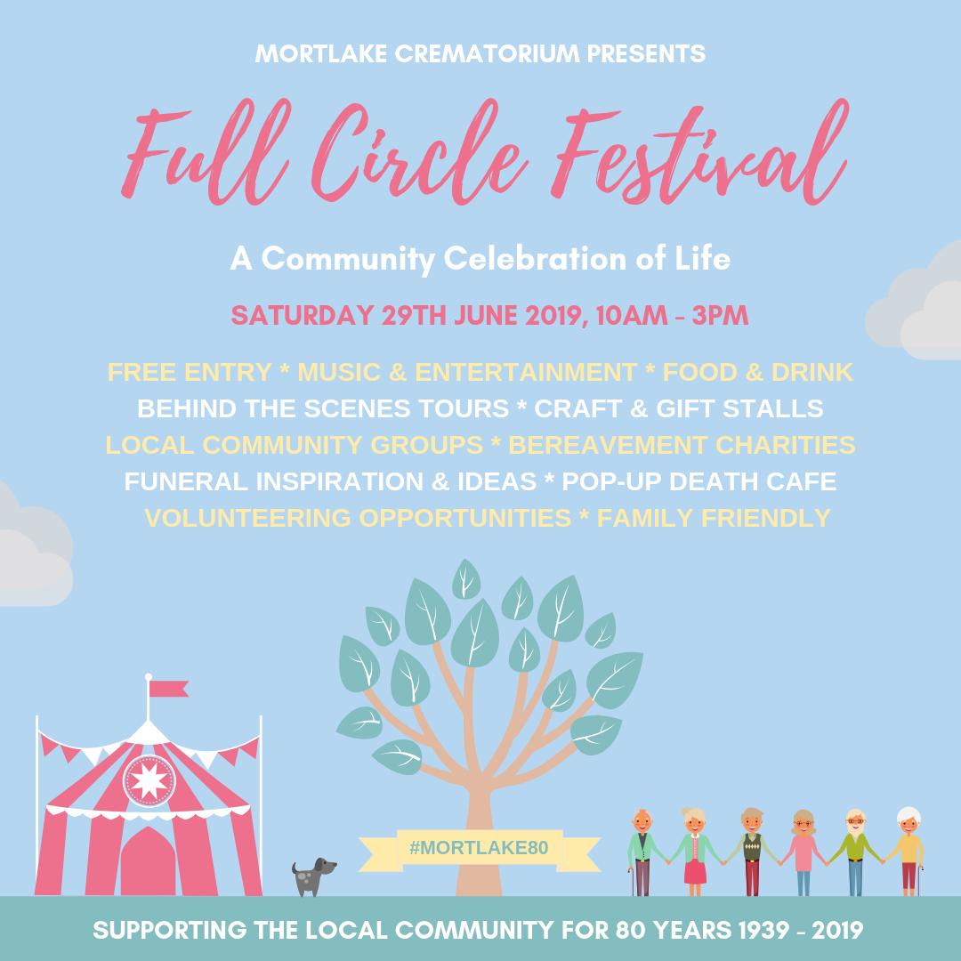 Full Circle Festival Flyer