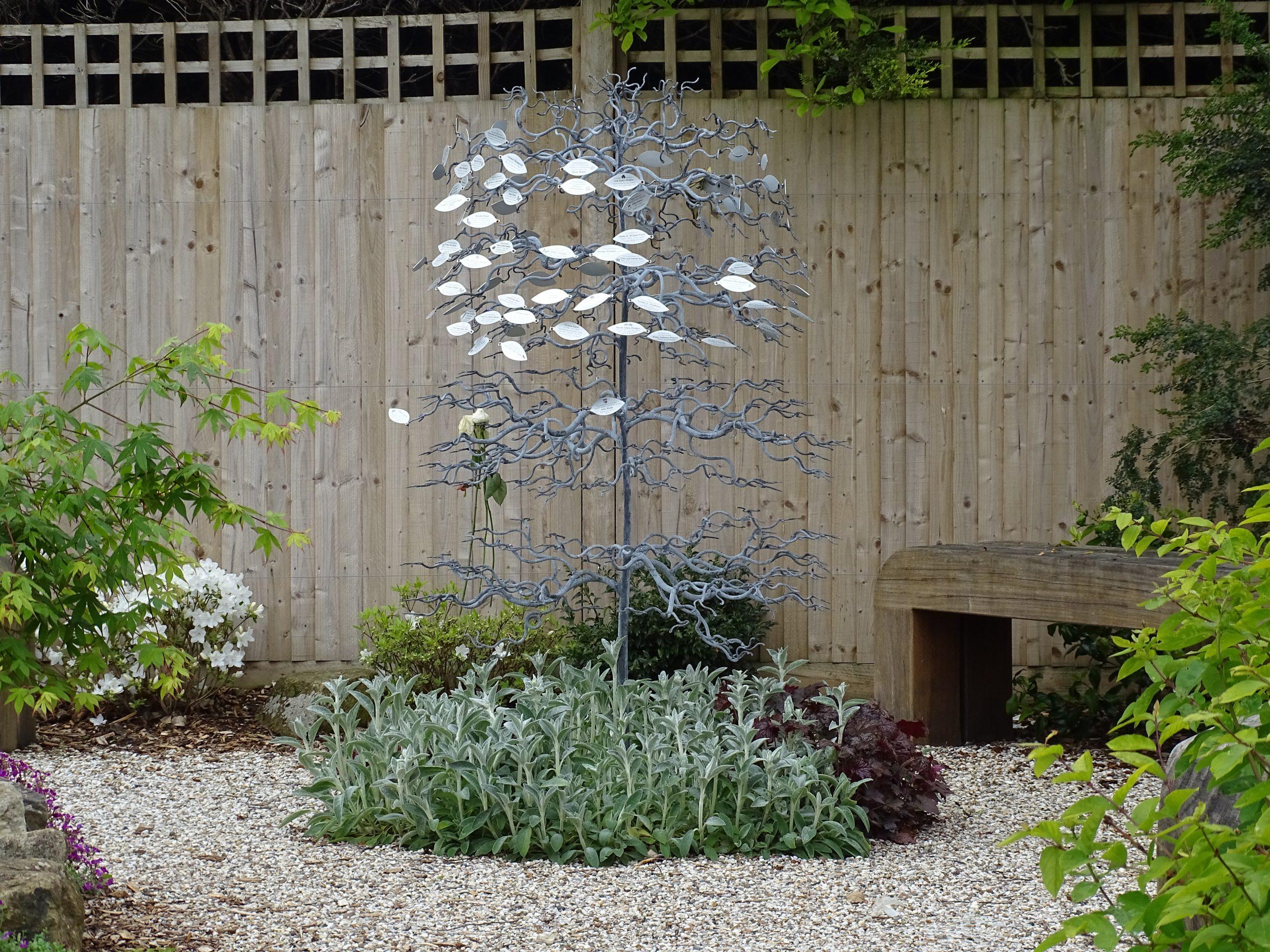 Garden of Reflection Memorial Tree.